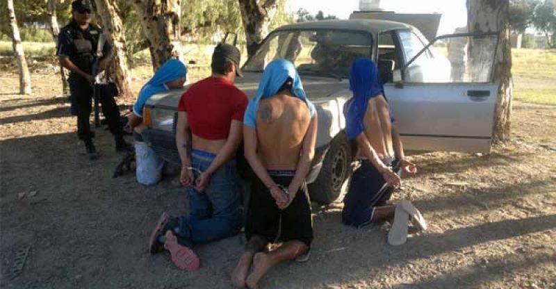pibes detenidos
