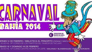Siguen el carnaval en la ciudad