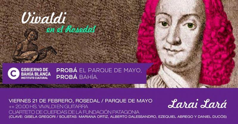 Vivaldi en el Rosedal