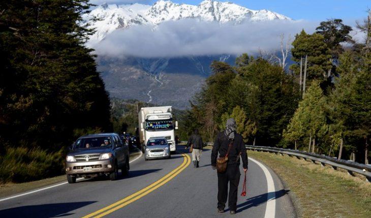 protestas mapuches bariloche