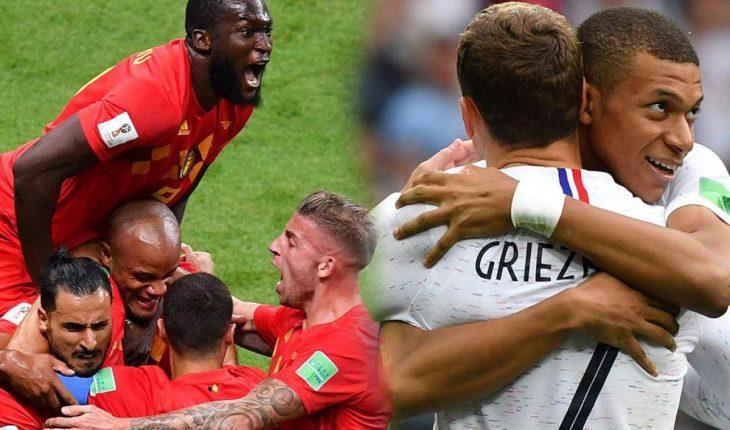 Semifinal Belgica Francia